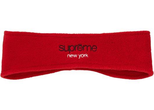 Picture of Supreme Polartec Headband Red