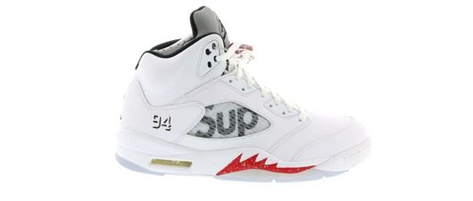 Picture of Jordan 5 Retro Supreme White