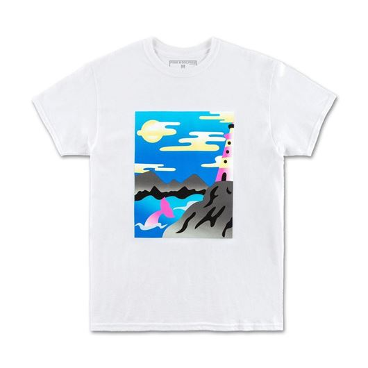 Picture of DOLPHIN BAY TEE White