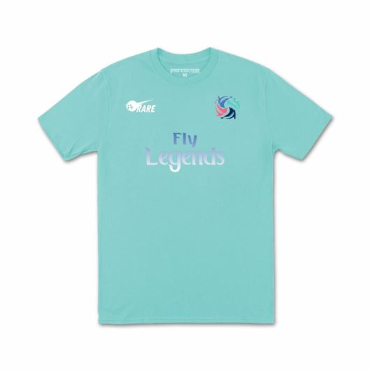 Picture of FLY LEGENDS '18 TEE Aqua