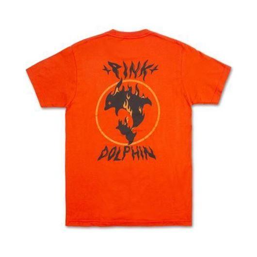 Picture of AQUA FLAME TEE Orange