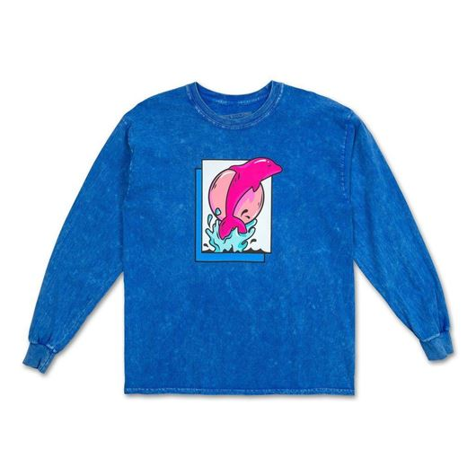 Picture of LEAP L/S TEE Blue