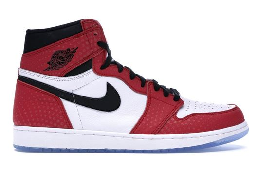 Picture of Jordan 1 Retro High Spider-Man Origin Story