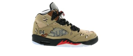 Picture of Jordan 5 Retro Supreme Desert Camo