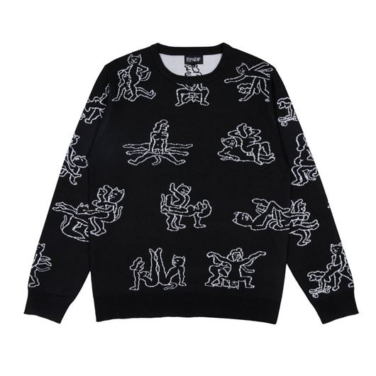 Picture of Nermasutra Knit Sweater Black