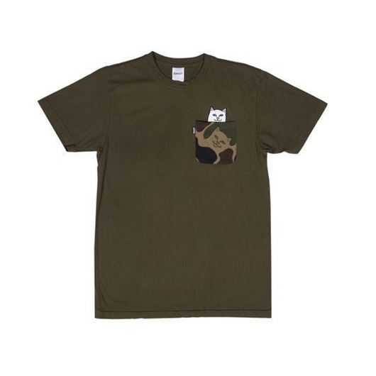 Picture of Lord Nermal Camo Pocket Tee Army Camo
