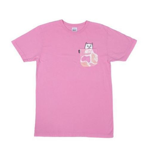 Picture of Lord Nermal Camo Pocket Tee Pink Camo