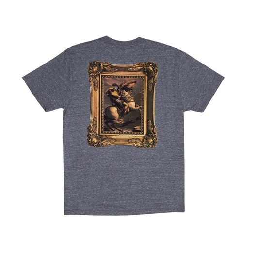 Picture of Steed Tee Heather Grey