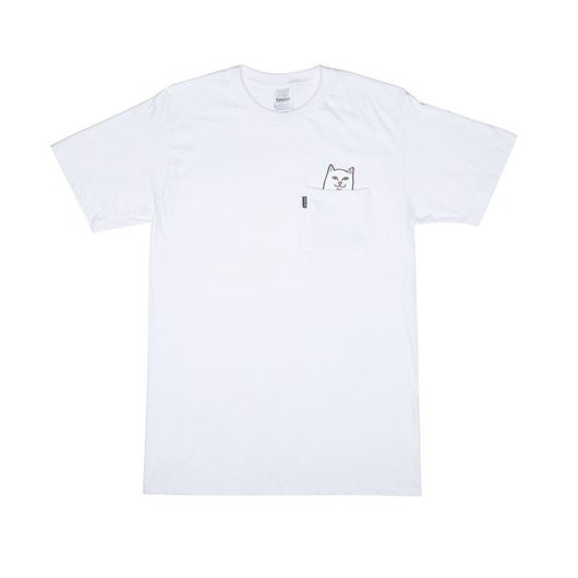 Picture of Lord Nermal Pocket Tee White