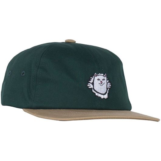 Picture of Nermamaniac Strapback Tan / Hunter Green