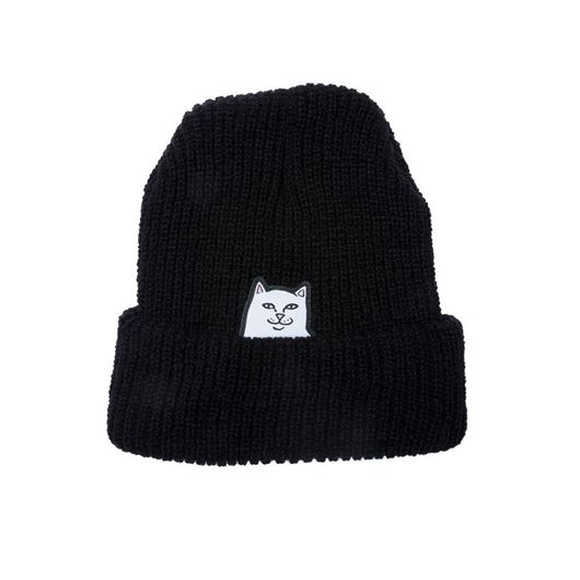 Picture of Lord Nermal Rib Beanie Black