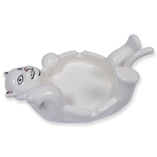 Picture of Lazy Nerm Ceramic Ash Tray  White