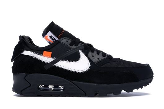 Picture of Air Max 90 OFF-WHITE Black