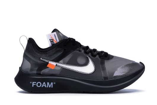 Picture of Nike Zoom Fly Off-White Black Silver