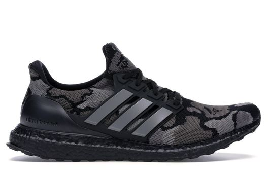 Picture of adidas Ultra Boost 4.0 Bape Camo Black
