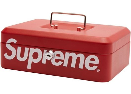 Picture of Supreme Lock Box Red