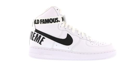 Picture of Air Force 1 High Supreme World Famous White