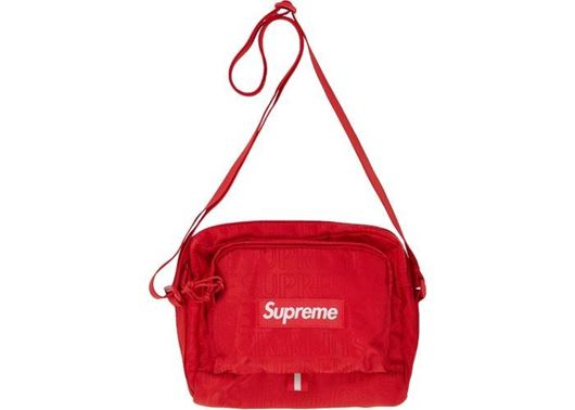 Picture of Supreme Shoulder Bag (SS19) Red