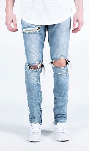 Picture of PACIFIC DENIM (STONE WASH) Blue