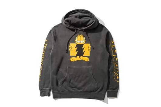 Picture of Garfield Flag Pullover Pigment Black