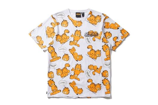 Picture of Garfield Mood S/S T-Shirt White