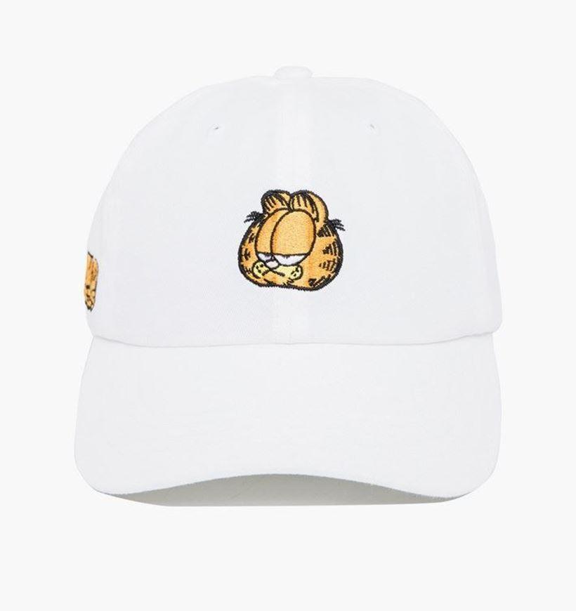Picture of Garfield Mood Dad Hat White