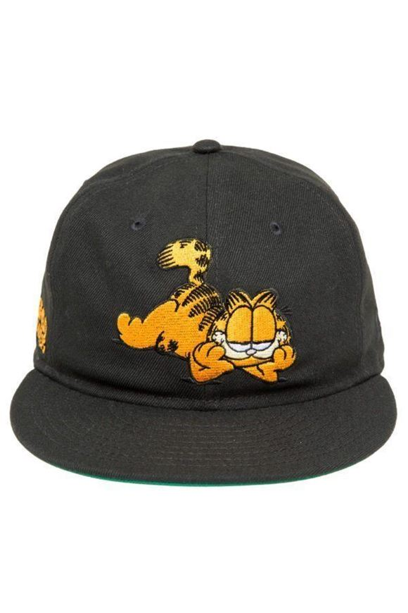 Picture of Garfield Snapback Black