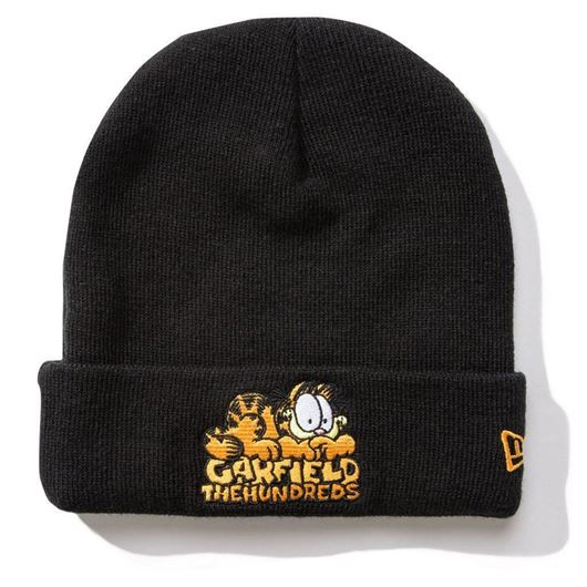 Picture of Garfield Head Beanie Black