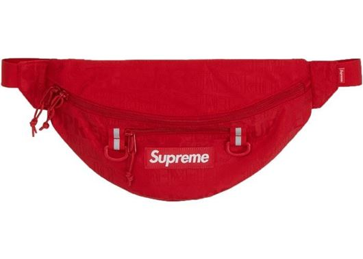 Picture of Supreme Waist Bag (SS19) Red