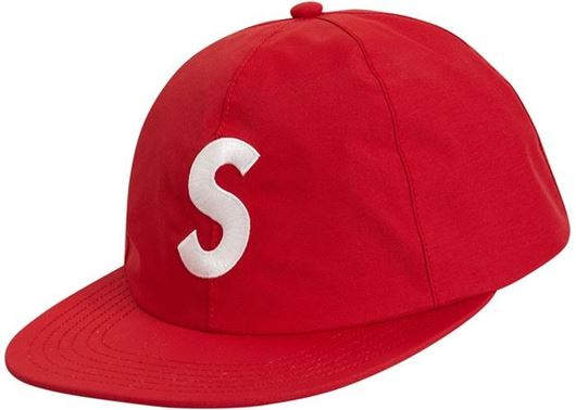 Picture of Supreme Gore Tex S logo 6 panel Red