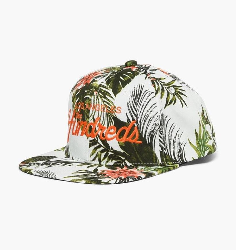 Picture of Team Flower Snapback White