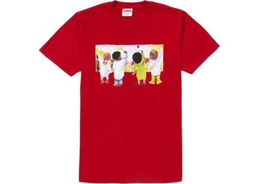 Picture of Supreme Kids Tee Red