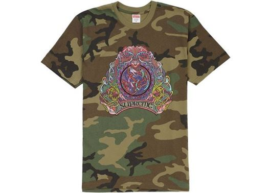 Picture of Supreme Knot Tee Woodland Camo