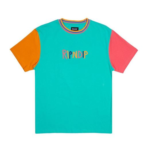 Picture of Color Block Multi Panel Tee Multi