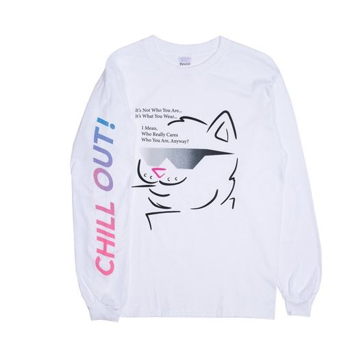 Picture of Chill Out L/S White