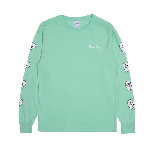 Picture of Love Nerms L/S Mint