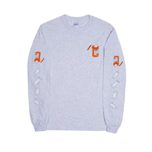 Picture of Nermal Pills L/S Ash Grey