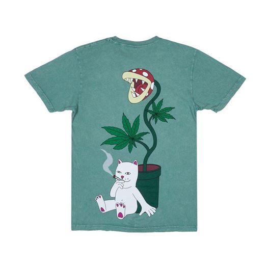 Picture of Herb Eater Tee Green Mineral Wash