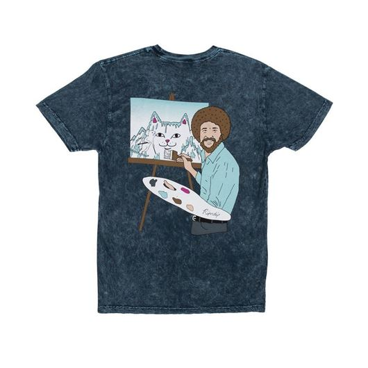 Picture of Ross Tee Baby Blue Mineral Wash