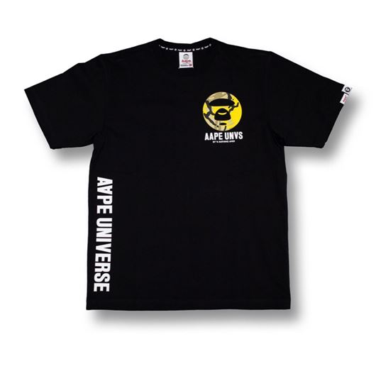 Picture of Aape Universe Tee Black