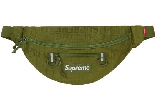 Picture of Supreme Waist Bag (SS19) Olive