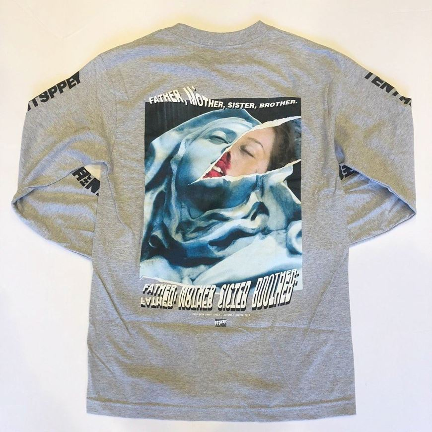 Picture of LA MADONNA L/S HEATHER GREY