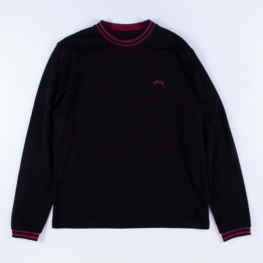 Picture of BRODY LS CREW Black