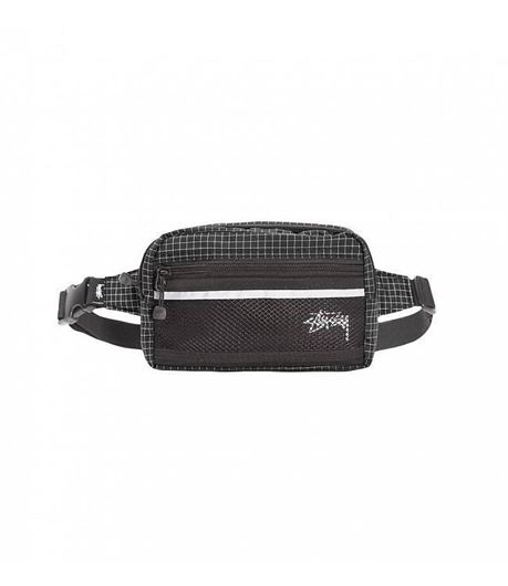 Picture of RIPSTOP NYLON WAIST BAG Black