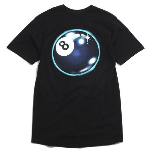 Picture of MYSTIC 8 BALL TEE Black