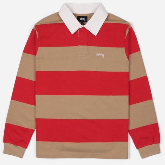 Picture of RALPHIE STIRPE LS RUGBY Khaki