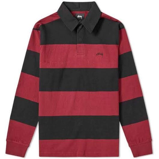 Picture of RALPHIE STIRPE LS RUGBY Black
