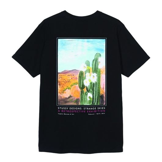 Picture of CACTUS SKY TEE Black