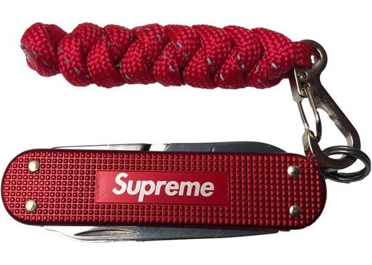 Picture of Supreme Victorinox Classic Alox Knife Red