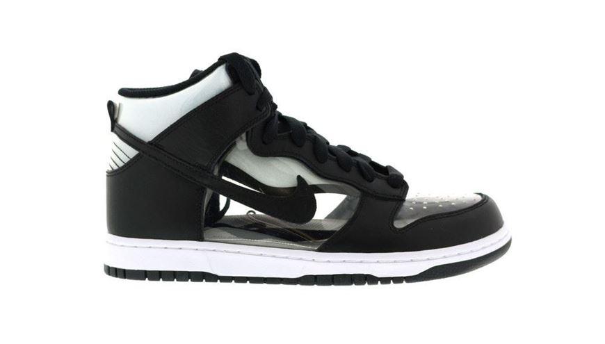 la moitié 60c15 42d36 Nike Dunk High Comme Des Garcons Clear